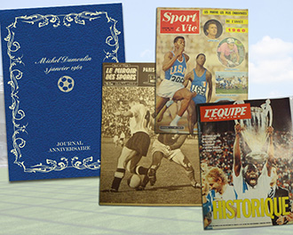 Le Journal Sportif dans son coffret personnalis