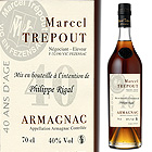 ide cadeau Armagnac 40 ans d'Age Personnalis