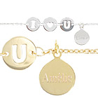 ide cadeau Collier et Bracelet I LOVE YOU