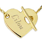 ide cadeau Collier Coeur Personnalis