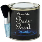 id�e cadeau Kit de body paint chocolat