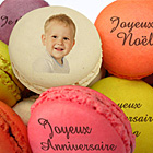 ide cadeau Macarons Personnaliss