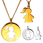 ide cadeau Pendentifs Duo Maman Enfant