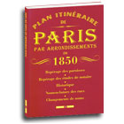 ide cadeau Le Plan de Paris en 1850