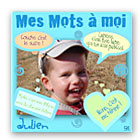 ide cadeau Toile Mots dEnfant Personnalise