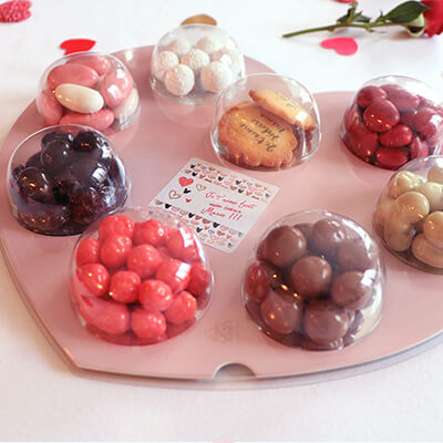 Palette Coeur Biscuits personnalisable