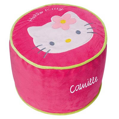 Pouf Hello Kitty Personnalis�