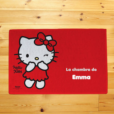 Tapis de sol Hello Kitty